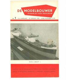 """NVM 95.55.001 Jaargang """"De Modelbouwer"""" Editie : 55.001 (PDF)"""