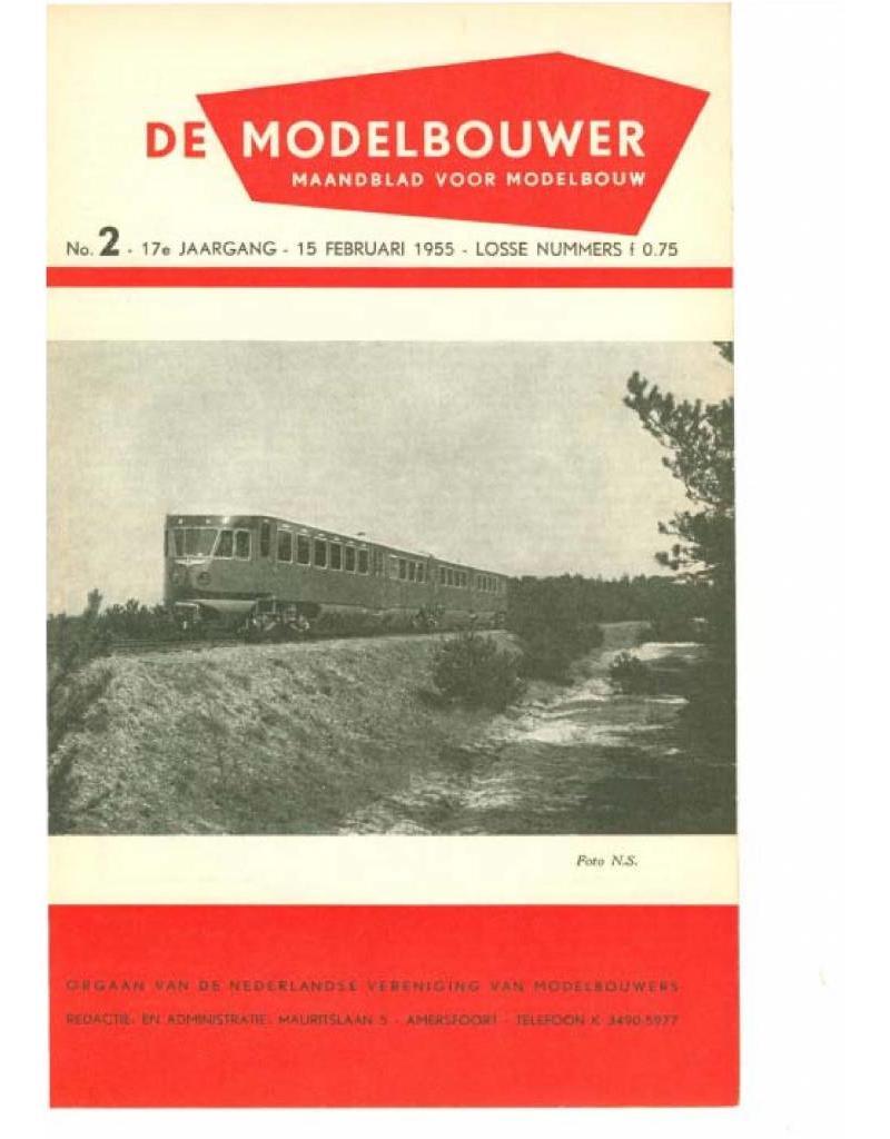 """NVM 95.55.002 Jaargang """"De Modelbouwer"""" Editie : 55.002 (PDF)"""