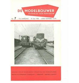 """NVM 95.55.007 Jaargang """"De Modelbouwer"""" Editie : 55.007 (PDF)"""