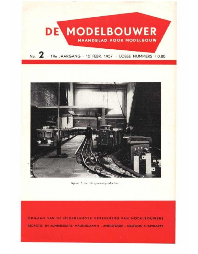 """NVM 95.57.002 Jaargang """"De Modelbouwer"""" Editie : 57.002 (PDF)"""