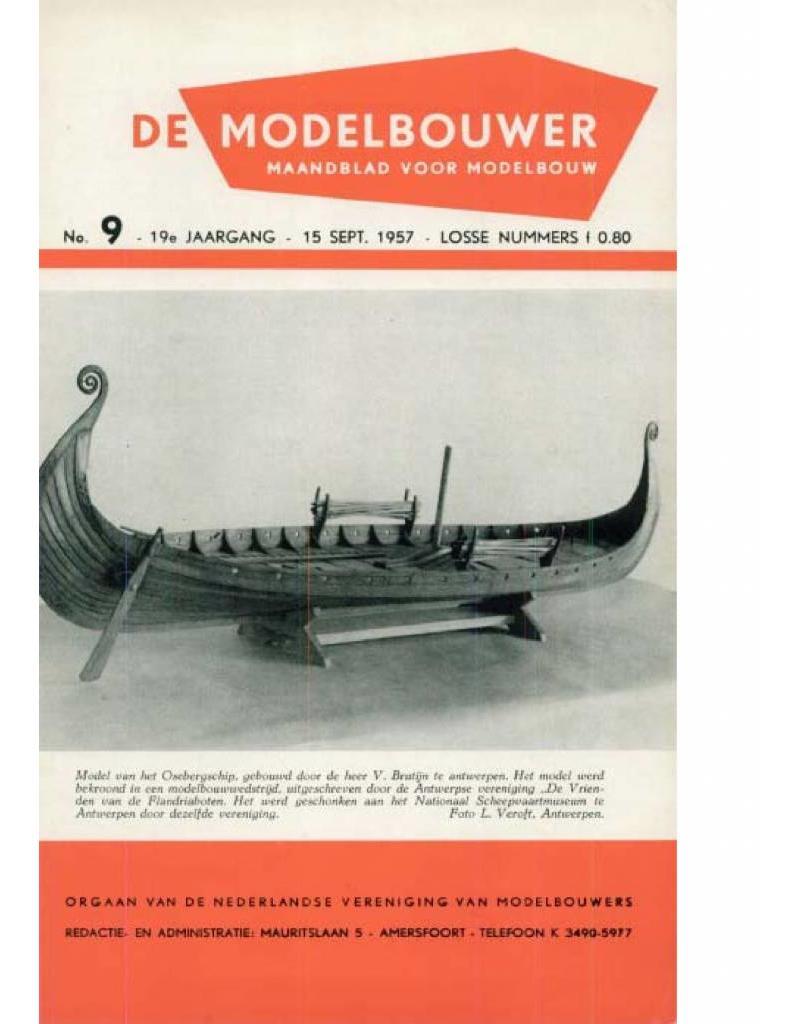"""NVM 95.57.009 Jaargang """"De Modelbouwer"""" Editie : 57.009 (PDF)"""