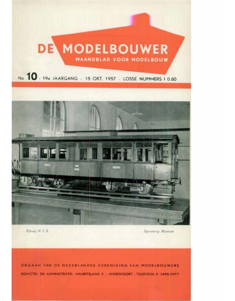 """NVM 95.57.010 Jaargang """"De Modelbouwer"""" Editie : 57.010 (PDF)"""