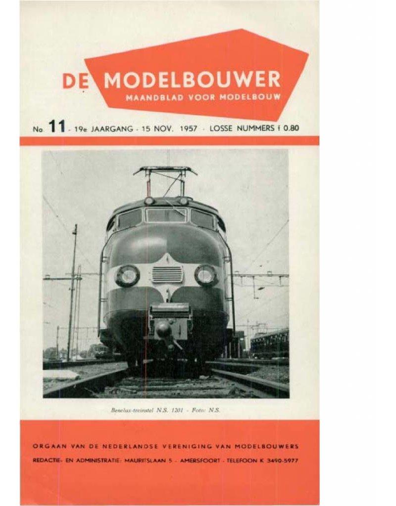 """NVM 95.57.011 Jaargang """"De Modelbouwer"""" Editie : 57.011 (PDF)"""