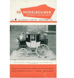 """NVM 95.58.006 Jaargang """"De Modelbouwer"""" Editie : 58.006 (PDF)"""