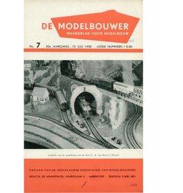 """NVM 95.58.007 Jaargang """"De Modelbouwer"""" Editie : 58.007 (PDF)"""