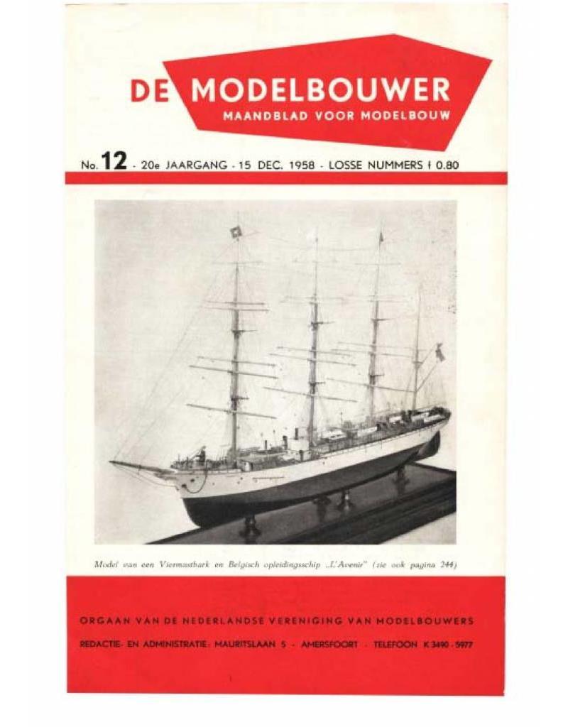 """NVM 95.58.012 Jaargang """"De Modelbouwer"""" Editie : 58.012 (PDF)"""