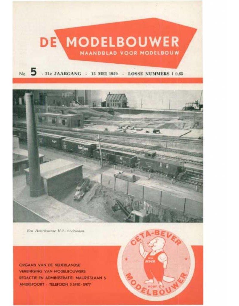 """NVM 95.59.005 Jaargang """"De Modelbouwer"""" Editie : 59.005 (PDF)"""