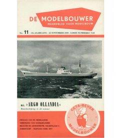 """NVM 95.59.011 Jaargang """"De Modelbouwer"""" Editie : 59.011 (PDF)"""