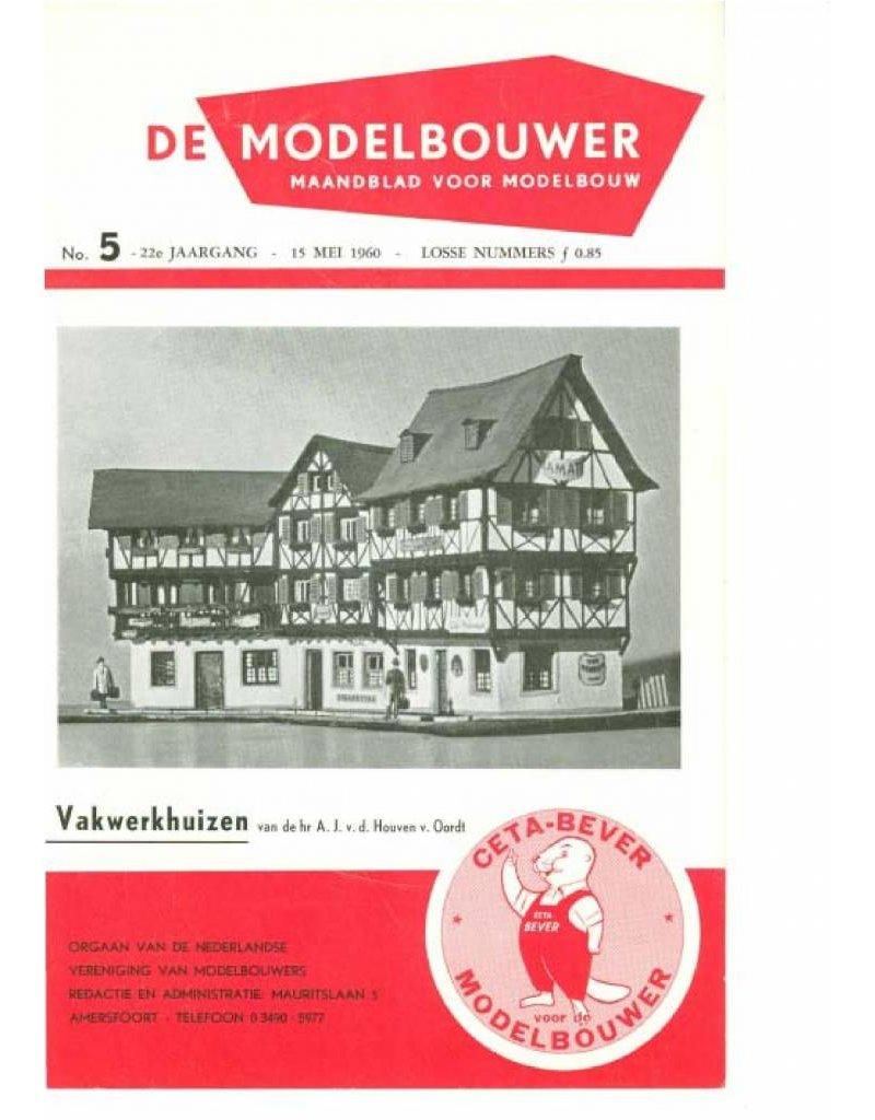 """NVM 95.60.005 Jaargang """"De Modelbouwer"""" Editie : 60.005 (PDF)"""