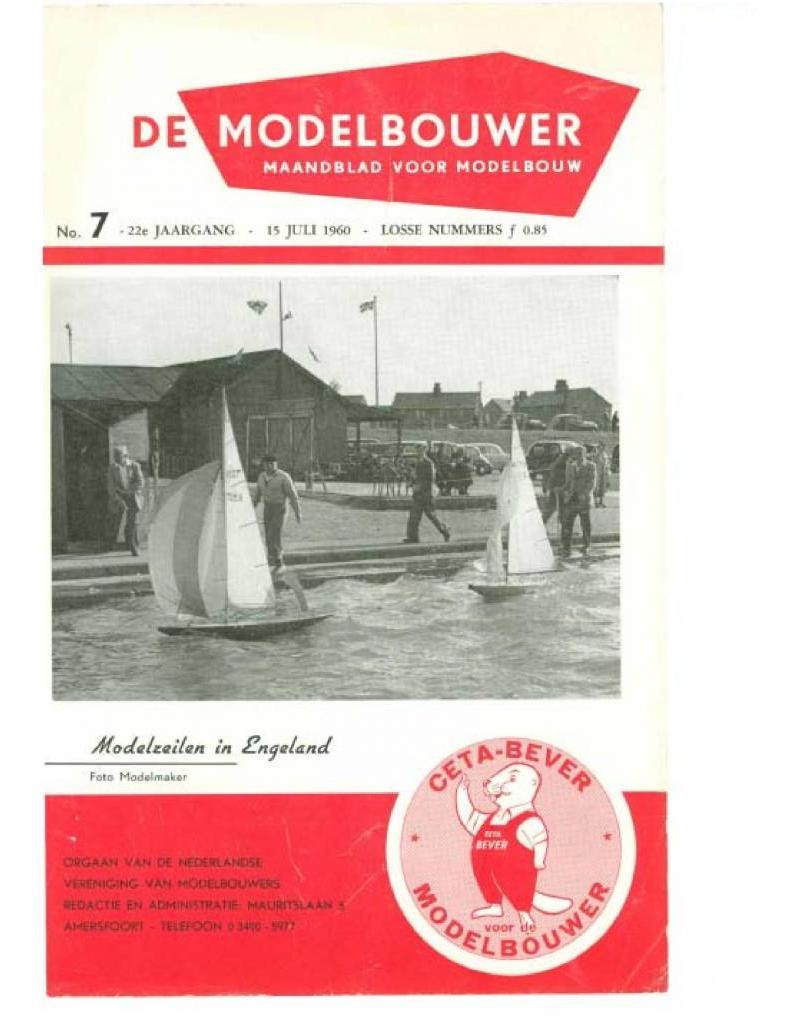 """NVM 95.60.007 Jaargang """"De Modelbouwer"""" Editie : 60.007 (PDF)"""