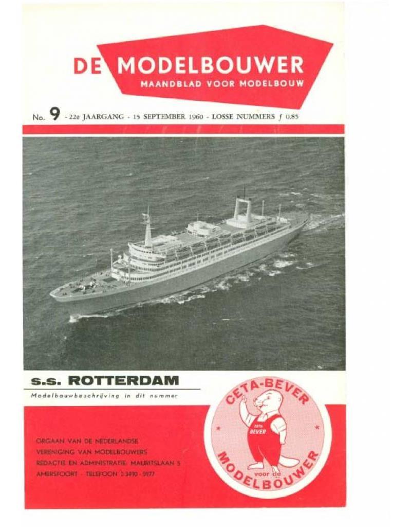 """NVM 95.60.009 Jaargang """"De Modelbouwer"""" Editie : 60.009 (PDF)"""