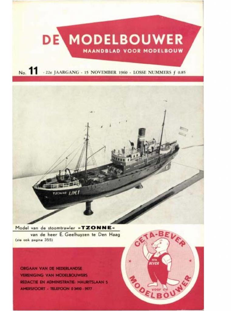"""NVM 95.60.011 Jaargang """"De Modelbouwer"""" Editie : 60.011 (PDF)"""