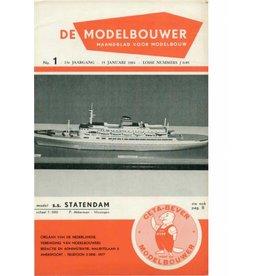 """NVM 95.61.001 Jaargang """"De Modelbouwer"""" Editie : 61.001 (PDF)"""