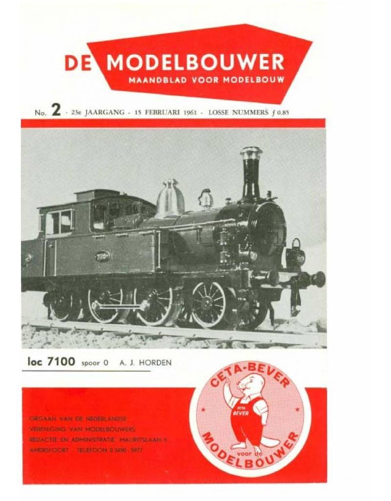 """NVM 95.61.002 Jaargang """"De Modelbouwer"""" Editie : 61.002 (PDF)"""