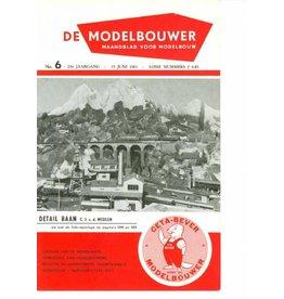 """NVM 95.61.006 Jaargang """"De Modelbouwer"""" Editie : 61.006 (PDF)"""