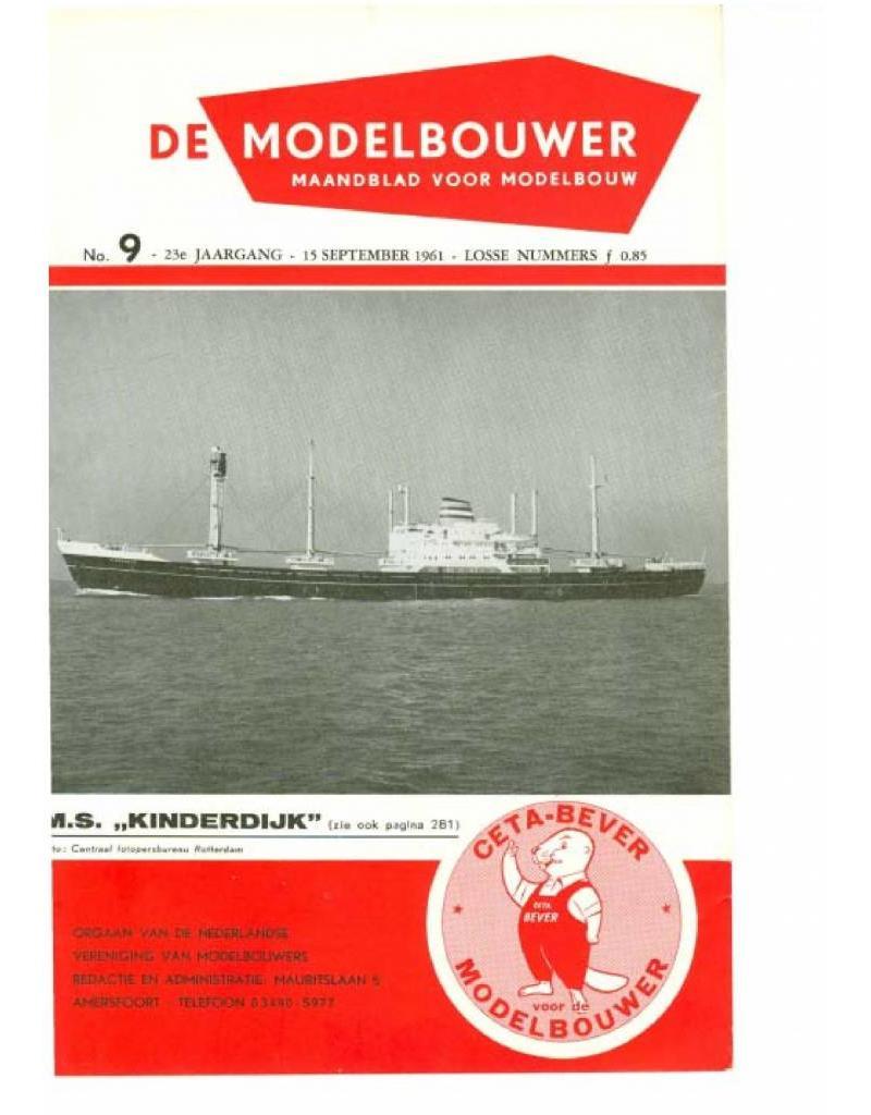 """NVM 95.61.009 Jaargang """"De Modelbouwer"""" Editie : 61.009 (PDF)"""