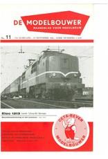 """NVM 95.61.011 Jaargang """"De Modelbouwer"""" Editie : 61.011 (PDF)"""