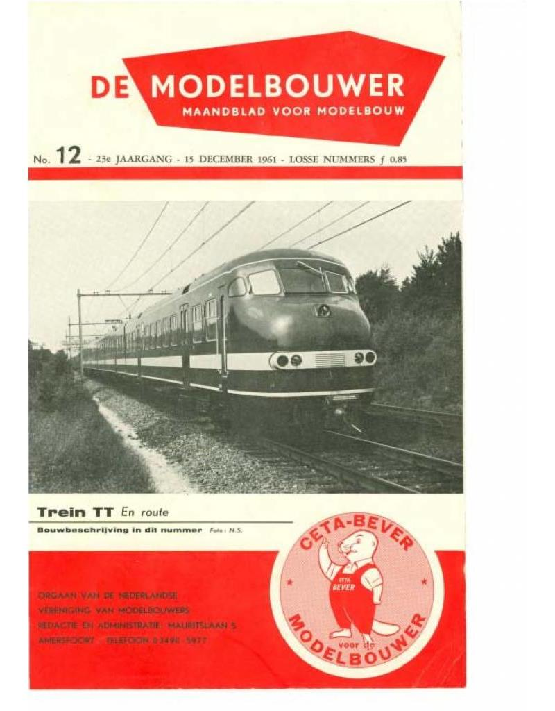 """NVM 95.61.012 Jaargang """"De Modelbouwer"""" Editie : 61.012 (PDF)"""
