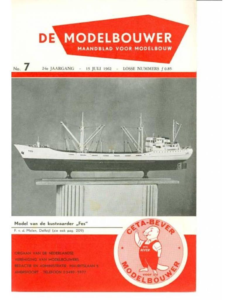 """NVM 95.62.007 Jaargang """"De Modelbouwer"""" Editie : 62.007 (PDF)"""