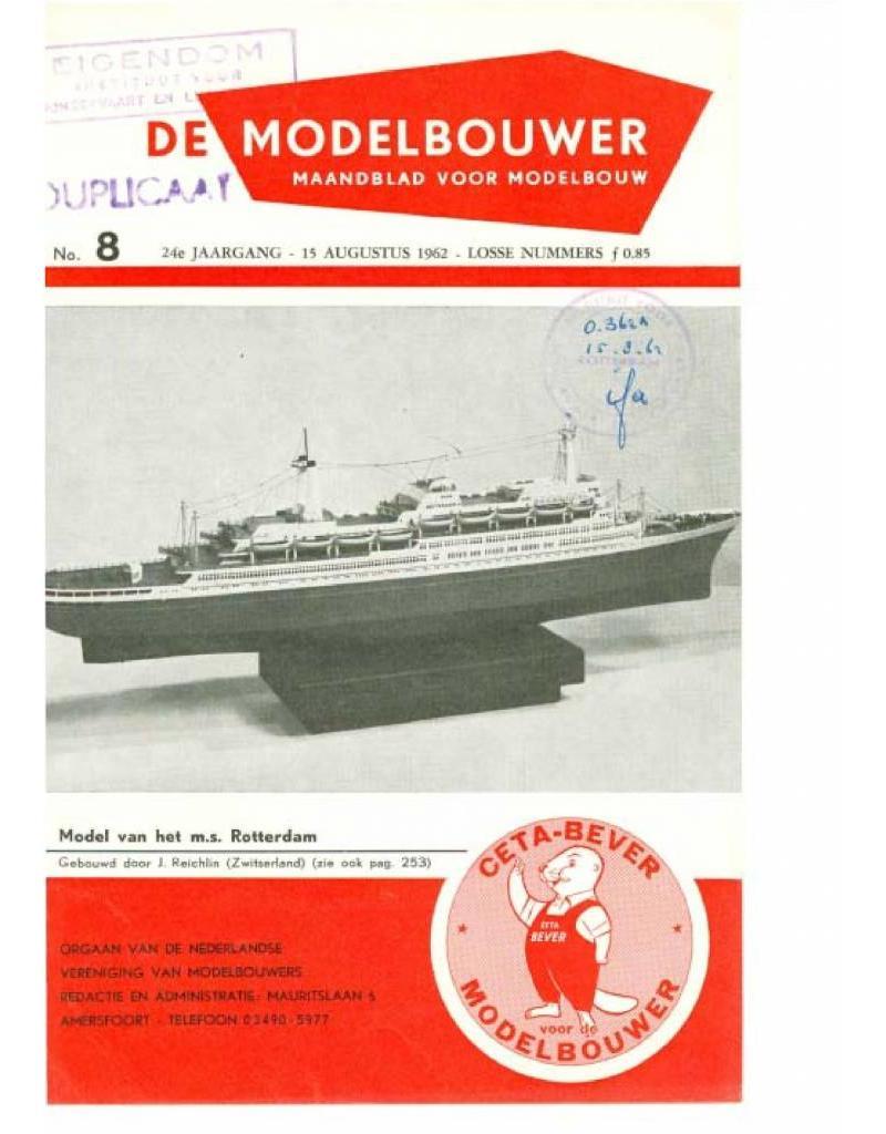 """NVM 95.62.008 Jaargang """"De Modelbouwer"""" Editie : 62.008 (PDF)"""