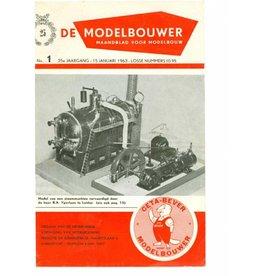 """NVM 95.63.001 Jaargang """"De Modelbouwer"""" Editie : 63.001 (PDF)"""