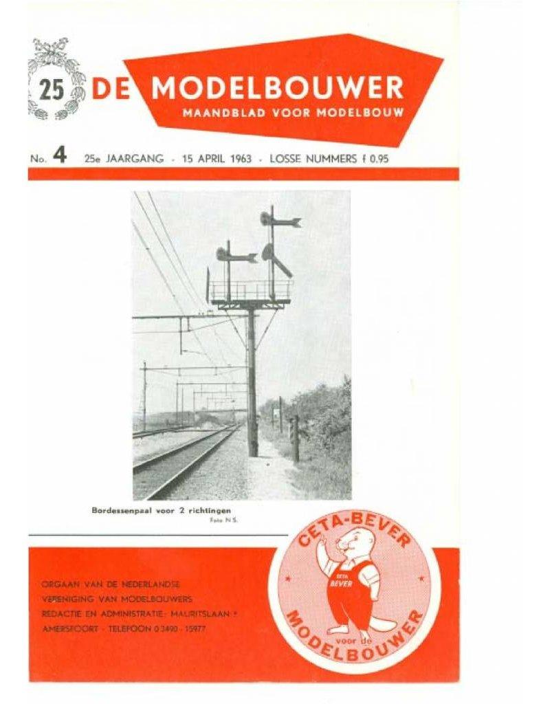 """NVM 95.63.004 Jaargang """"De Modelbouwer"""" Editie : 63.004 (PDF)"""