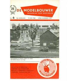 """NVM 95.63.006 Jaargang """"De Modelbouwer"""" Editie : 63.006 (PDF)"""