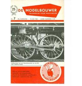 """NVM 95.63.007 Jaargang """"De Modelbouwer"""" Editie : 63.007 (PDF)"""