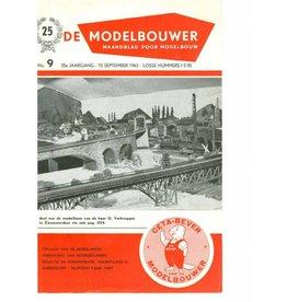 """NVM 95.63.009 Jaargang """"De Modelbouwer"""" Editie : 63.009 (PDF)"""