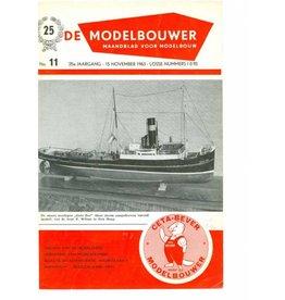"""NVM 95.63.011 Jaargang """"De Modelbouwer"""" Editie : 63.011 (PDF)"""