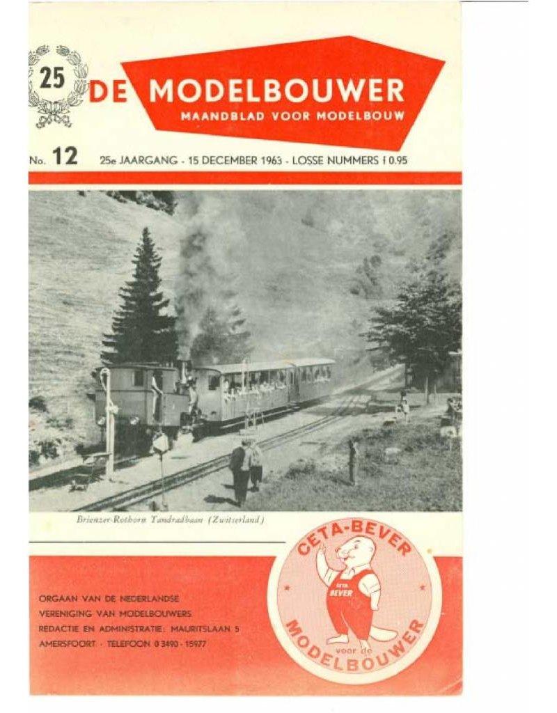 """NVM 95.63.012 Jaargang """"De Modelbouwer"""" Editie : 63.012 (PDF)"""