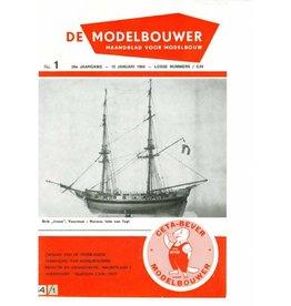 """NVM 95.64.001 Jaargang """"De Modelbouwer"""" Editie : 64.001 (PDF)"""