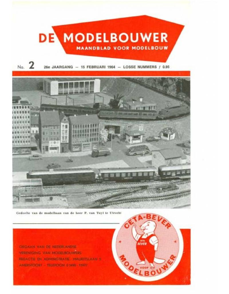 """NVM 95.64.002 Jaargang """"De Modelbouwer"""" Editie : 64.002 (PDF)"""