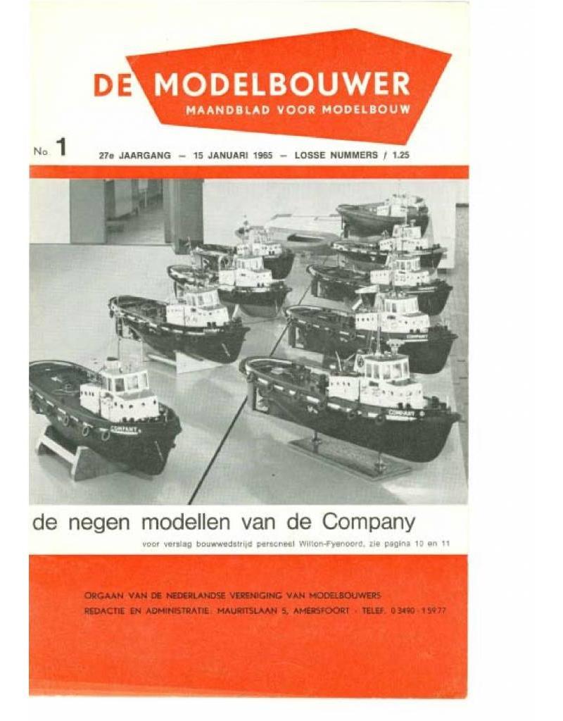 """NVM 95.65.001 Jaargang """"De Modelbouwer"""" Editie : 65.001 (PDF)"""