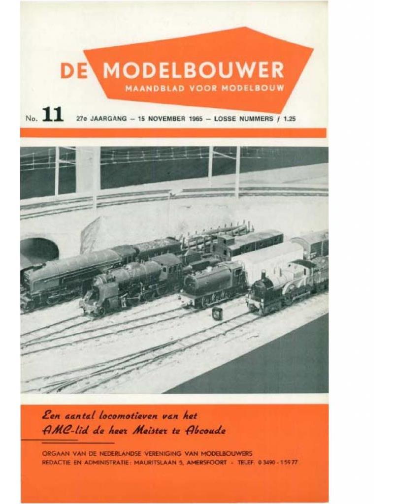 """NVM 95.65.011 Jaargang """"De Modelbouwer"""" Editie : 65.011 (PDF)"""