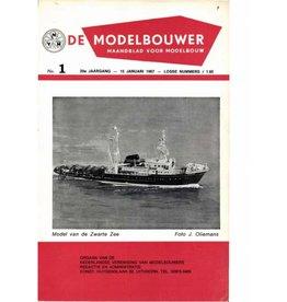 """NVM 95.67.001 Jaargang """"De Modelbouwer"""" Editie : 67.001 (PDF)"""