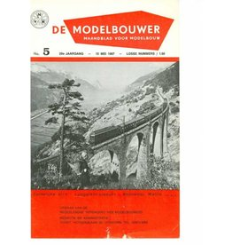"""NVM 95.67.005 Jaargang """"De Modelbouwer"""" Editie : 67.005 (PDF)"""
