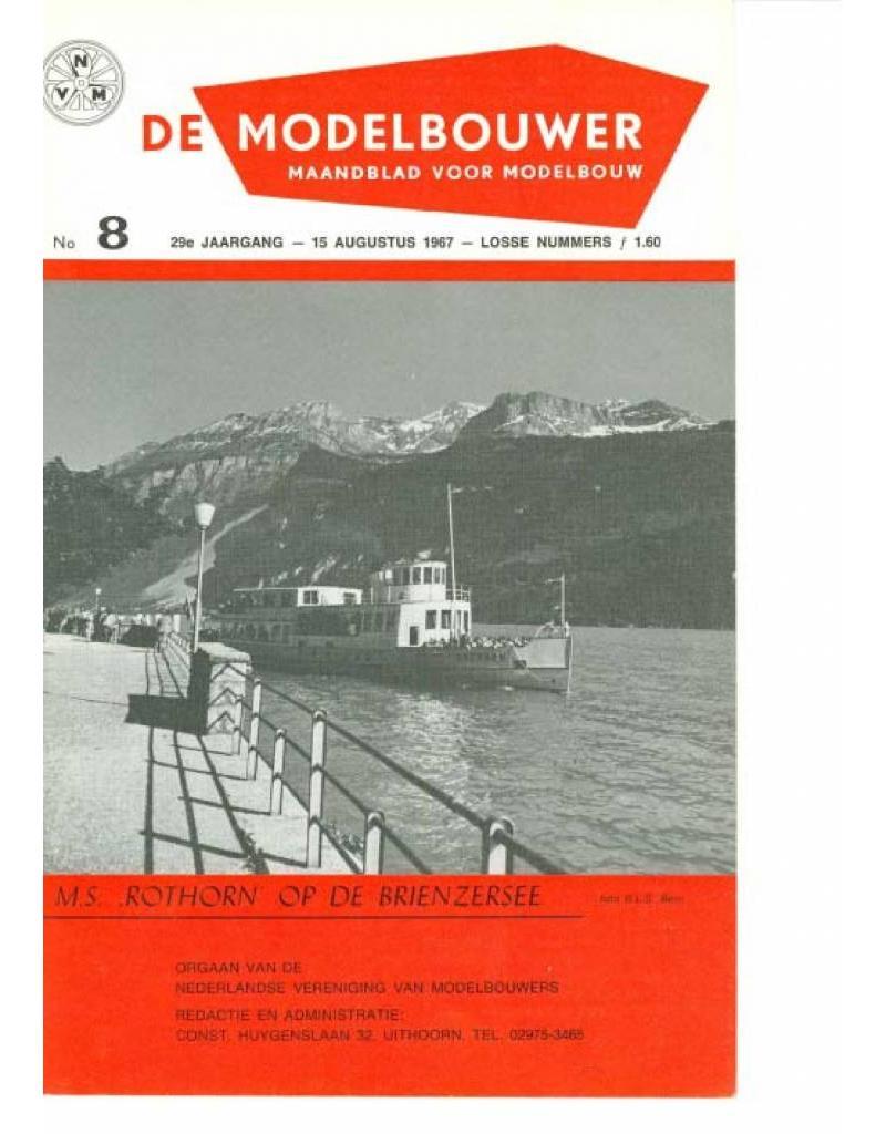 """NVM 95.67.008 Jaargang """"De Modelbouwer"""" Editie : 67.008 (PDF)"""