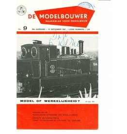 """NVM 95.67.009 Jaargang """"De Modelbouwer"""" Editie : 67.009 (PDF)"""