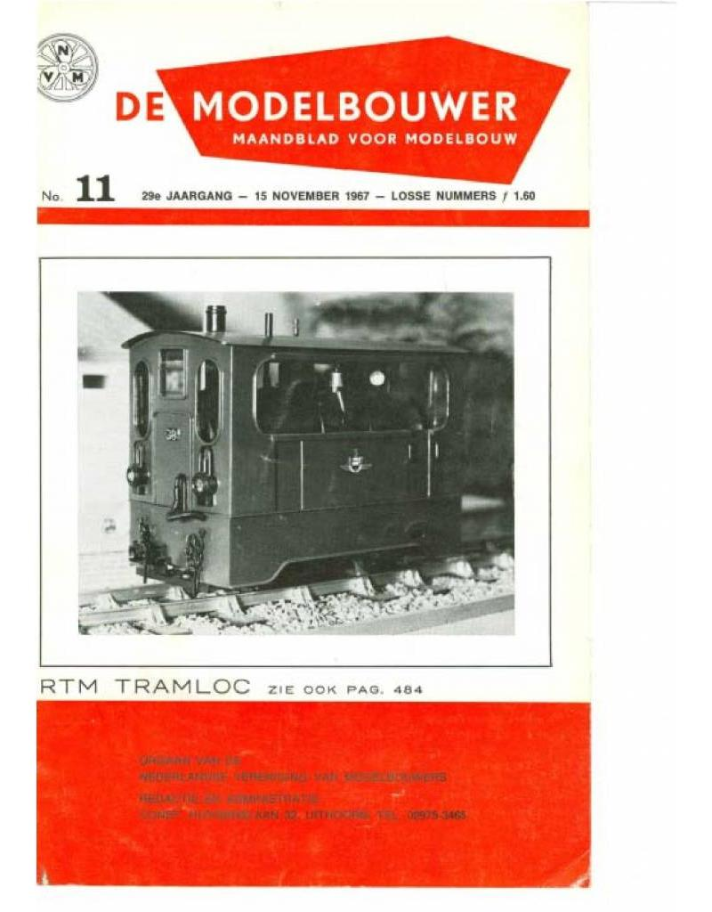 """NVM 95.67.011 Jaargang """"De Modelbouwer"""" Editie : 67.011 (PDF)"""