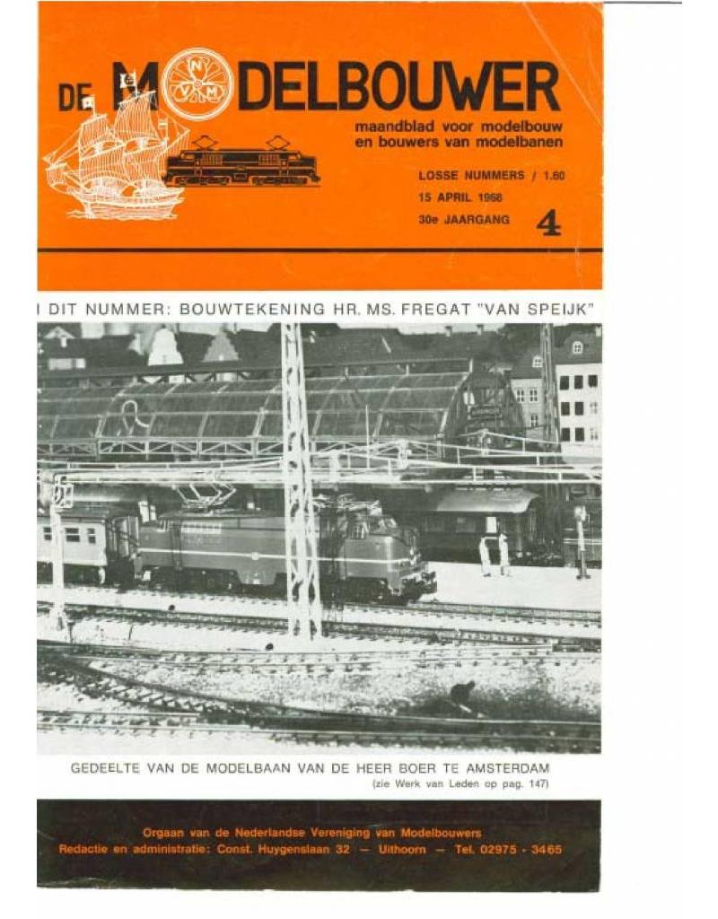 """NVM 95.68.004 Jaargang """"De Modelbouwer"""" Editie : 68.004 (PDF)"""
