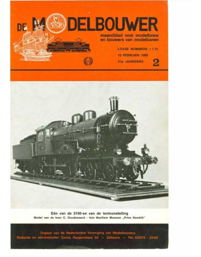 """NVM 95.69.002 Jaargang """"De Modelbouwer"""" Editie : 69.002 (PDF)"""