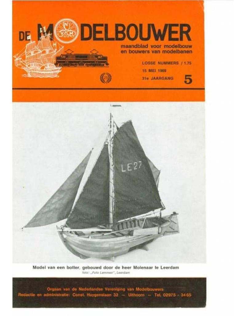 """NVM 95.69.005 Jaargang """"De Modelbouwer"""" Editie : 69.005 (PDF)"""