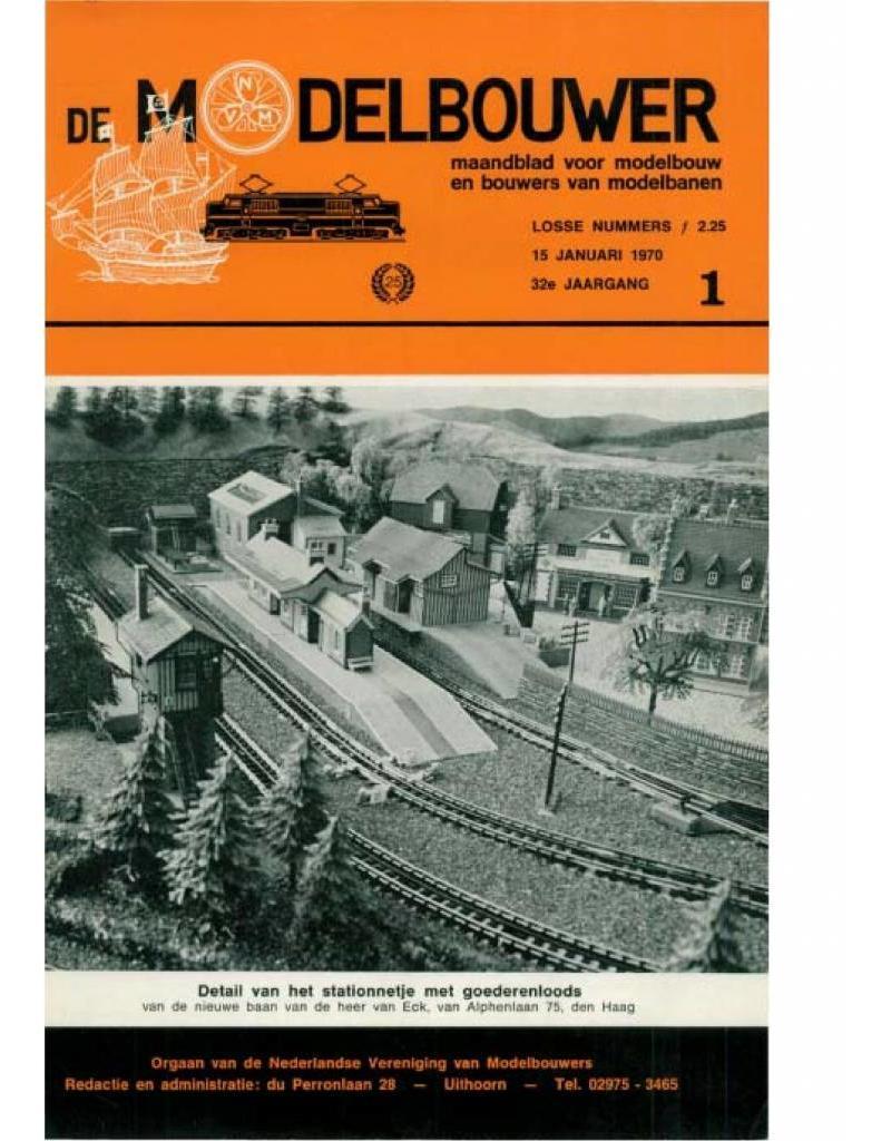 """NVM 95.70.001 Jaargang """"De Modelbouwer"""" Editie : 70.001 (PDF)"""