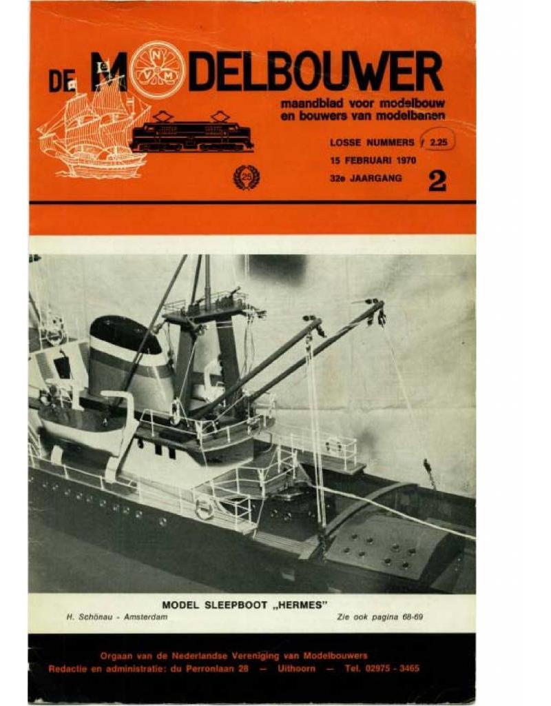 """NVM 95.70.002 Jaargang """"De Modelbouwer"""" Editie : 70.002 (PDF)"""