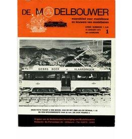 """NVM 95.72.001 Jaargang """"De Modelbouwer"""" Editie : 72.001 (PDF)"""
