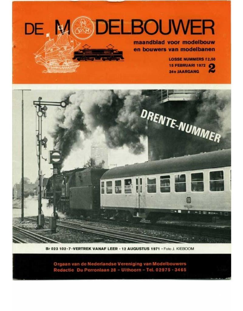 """NVM 95.72.002 Jaargang """"De Modelbouwer"""" Editie : 72.002 (PDF)"""