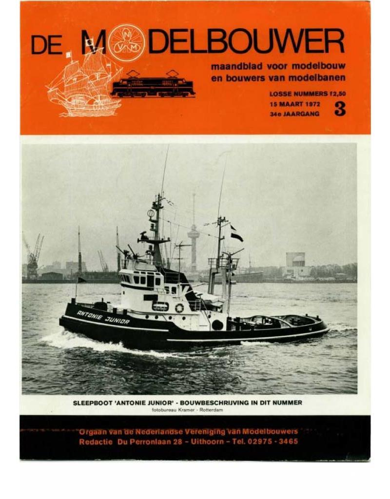 """NVM 95.72.003 Jaargang """"De Modelbouwer"""" Editie : 72.003 (PDF)"""