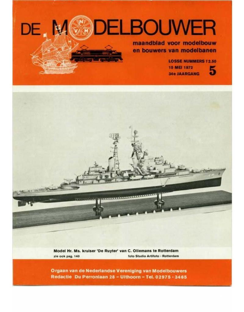 """NVM 95.72.005 Jaargang """"De Modelbouwer"""" Editie : 72.005 (PDF)"""