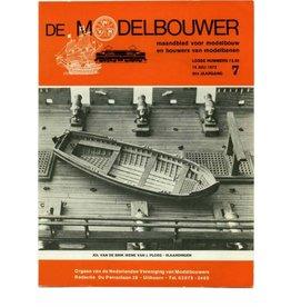 """NVM 95.72.007 Jaargang """"De Modelbouwer"""" Editie : 72.007 (PDF)"""